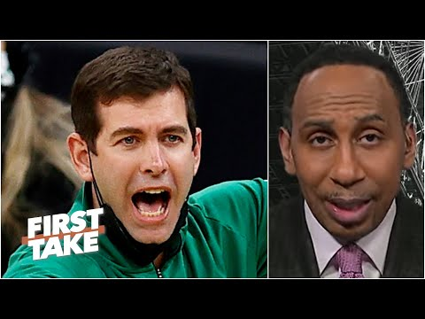 Brad Stevens is in trouble – Stephen A. thinks the Celtics head coach is on the hot seat |First Take