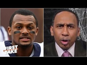Stephen A.'s message to Deshaun Watson: Don't you think about going to the Bears! | First Take