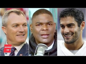 Reacting to 49ers GM John Lynch saying there is 'no doubt' Jimmy G will start in 2021 | KJZ