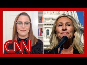 Cupp: Marjorie Taylor Greene is in Congress to get famous
