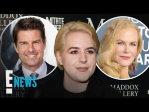 Tom Cruise & Nicole Kidman's Daughter Shares Rare Selfie | E! News