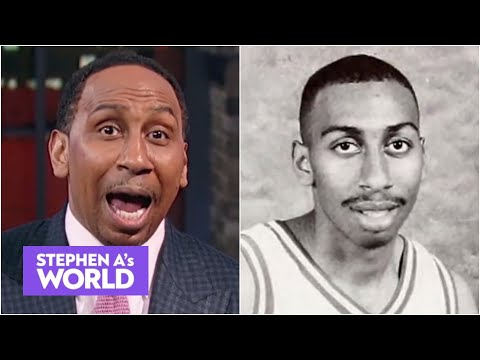 Stephen A. reacts to 'Random College Athletes' tweeting his pic from college | Stephen A's World