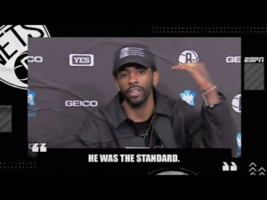 Kyrie Irving wants Kobe Bryant to be the NBA logo | NBA on ESPN