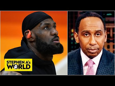 Stephen A. Smith shows appreciation for LeBron James' greatness   Stephen A.'s World