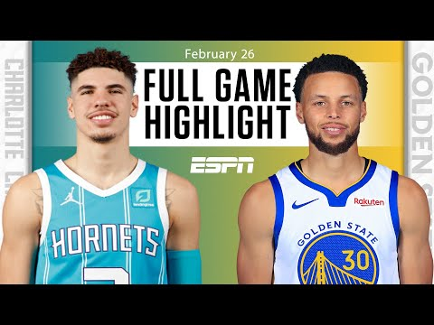 Steph Curry battles LaMelo Ball in Warriors vs. Hornets {HIGHLIGHTS} | NBA on ESPN