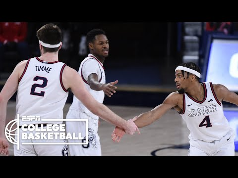 Gonzaga stays perfect with win vs. Loyola Marymount [HIGHLIGHTS] | ESPN College Basketball