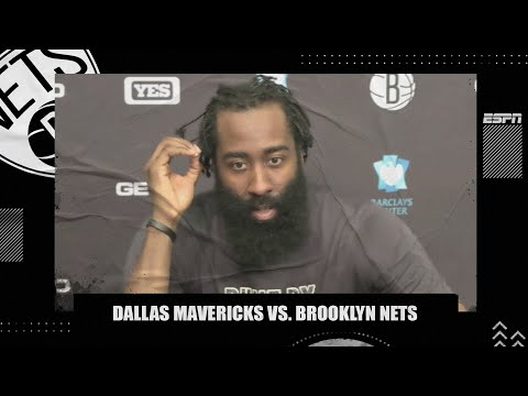 James Harden takes responsibility for 'careless turnovers' in loss vs. Mavericks | NBA on ESPN