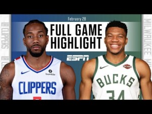 LA Clippers vs. Milwaukee Bucks [FULL GAME HIGHLIGHTS] | NBA on ESPN