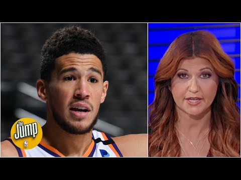 Devin Booker hit the winning shot when he wasn't even supposed to be in the game | The Jump