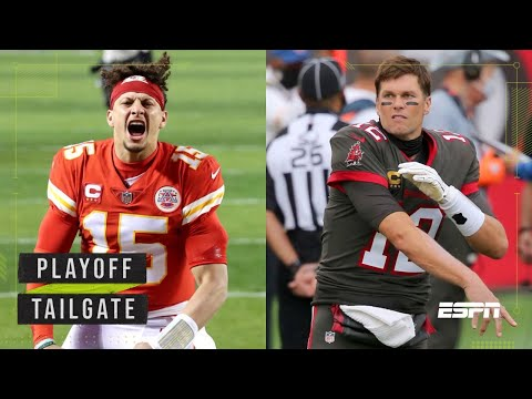 Brady and Mahomes square off for another chance at a ring at Super Bowl LV | Playoff Tailgate