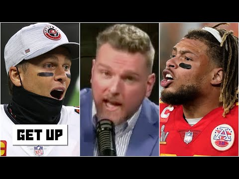 'You don't poke the GOAT!'- Pat McAfee on Tyrann Mathieu and Tom Brady  | Get Up