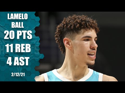 LaMelo Ball puts up 20 & 11 in another Hornets win [HIGHLIGHTS] | NBA on ESPN