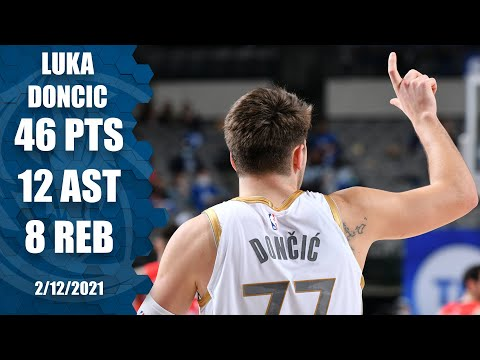 Luka Doncic puts up career-high 46 points vs. Zion Williamson's Pelicans [HIGHLIGHTS] | NBA on ESPN
