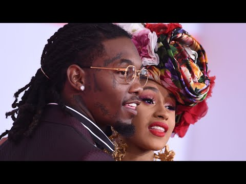 Cardi B & Offset and More Stars Celebrate Valentine's Day 2021