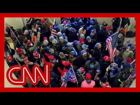 New Capitol riot video shows extreme levels of coordination