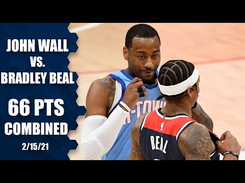Bradley Beal and John Wall face off in Wall's return to D.C. [HIGHLIGHTS] | NBA on ESPN