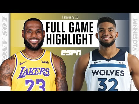 Los Angeles Lakers vs. Minnesota Timberwolves [FULL GAME HIGHLIGHTS] | NBA on ESPN