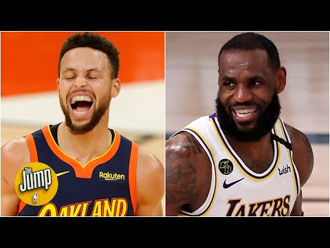 LeBron James and Steph Curry make the 'Most Trolled' NBA players list on social media | The Jump