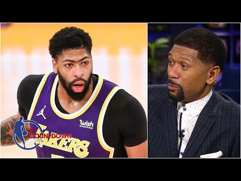 The Lakers won't win the West without a healthy Anthony Davis – Jalen Rose | NBA Countdown