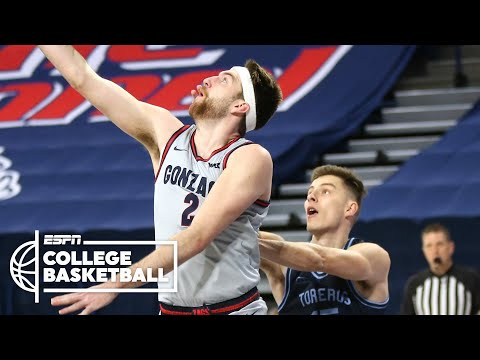 No. 1 Gonzaga crushes San Diego, now 22-0 [FULL GAME HIGHLIGHTS] | ESPN College Basketball