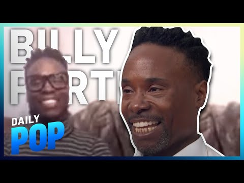 """Billy Porter Back at Work Filming """"Pose"""" and Returns to Fashion   Daily Pop   E! News"""