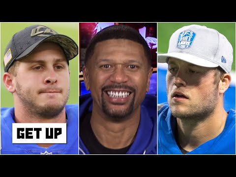 Lions fan Jalen Rose reacts to the Matthew Stafford-Jared Goff trade | Get Up