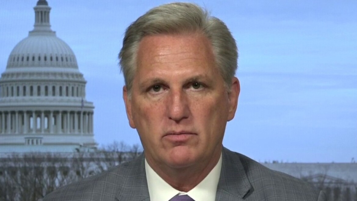 Kevin McCarthy slams COVID relief bill: Almost like Democrats 'want schools to stay closed'
