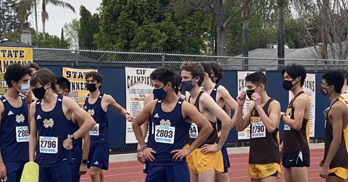 Sherman Oaks Notre Dame ends COVID layoff with cross-country meet on makeshift course