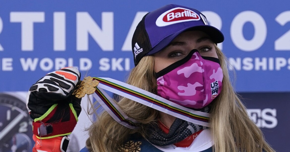 Mikaela Shiffrin becomes first American to win six skiing titles