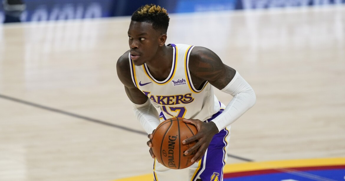 Lakers guard Dennis Schroder is out against Miami, will miss at least two more games