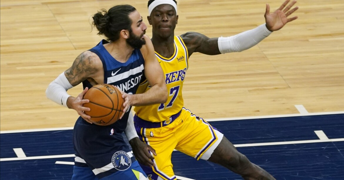 Lakers overcome early turnover problems to hold off Timberwolves