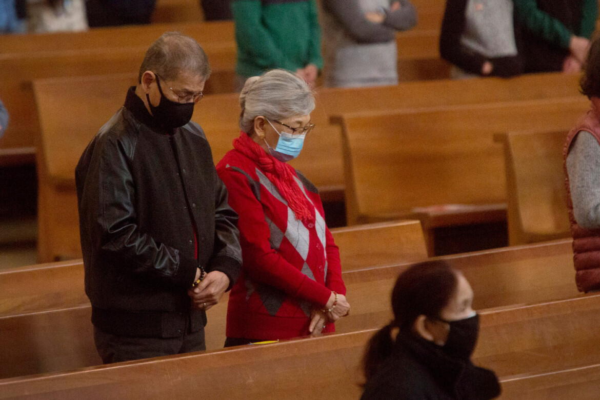 Photos: World Marriage Day Mass coincides with Valentine's Day at Cathedral of Our Lady of the Angels