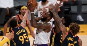 LeBron James and Lakers end a month of tests and adversity with dominant win