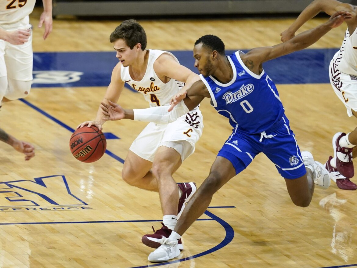 Drake rallies to beat No. 22 Loyola in overtime