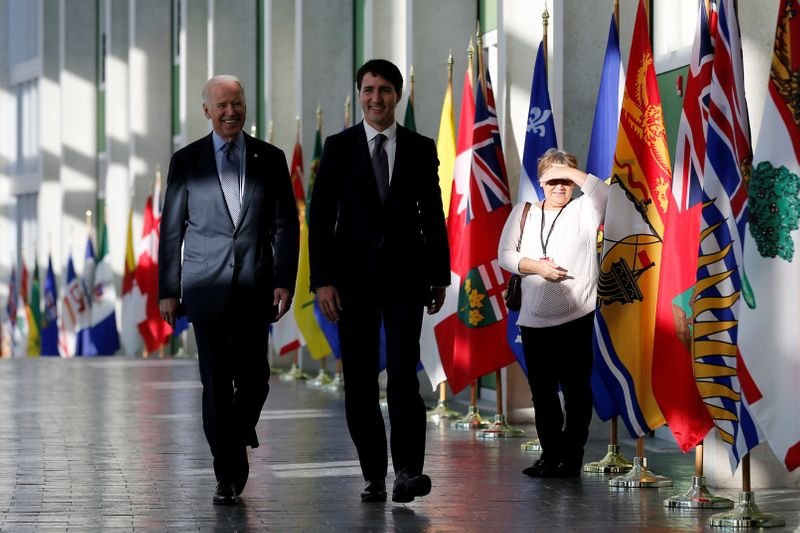 Biden, Trudeau aim to move past Keystone pipeline disagreement in first bilateral meeting