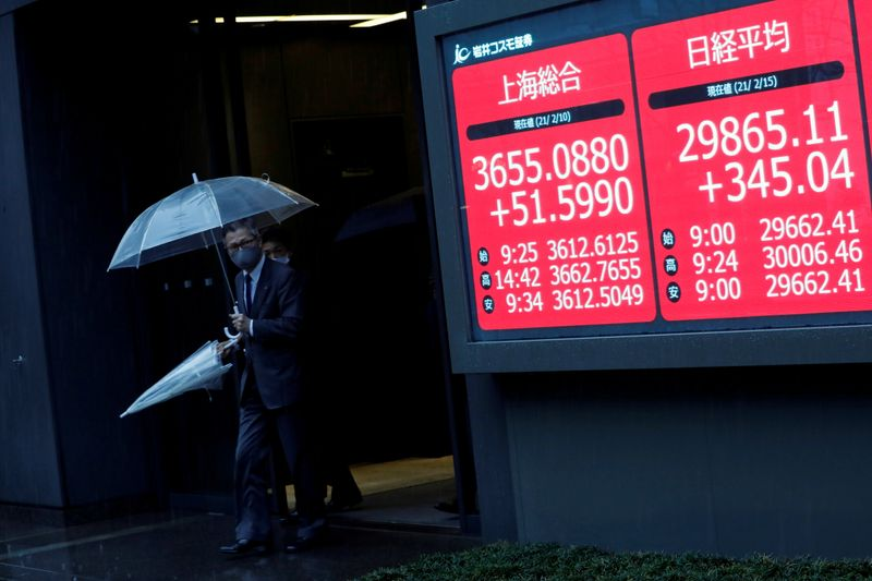 Asian stocks open higher as Fed's Powell nixes inflation fears