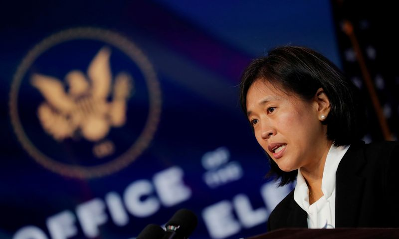 Biden USTR nominee Tai vows to end trade 'race to the bottom,' counter China