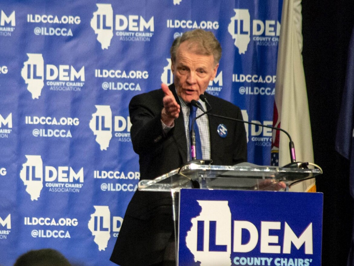 Over and out? Mike Madigan steps down as head of the Democratic Party of Illinois