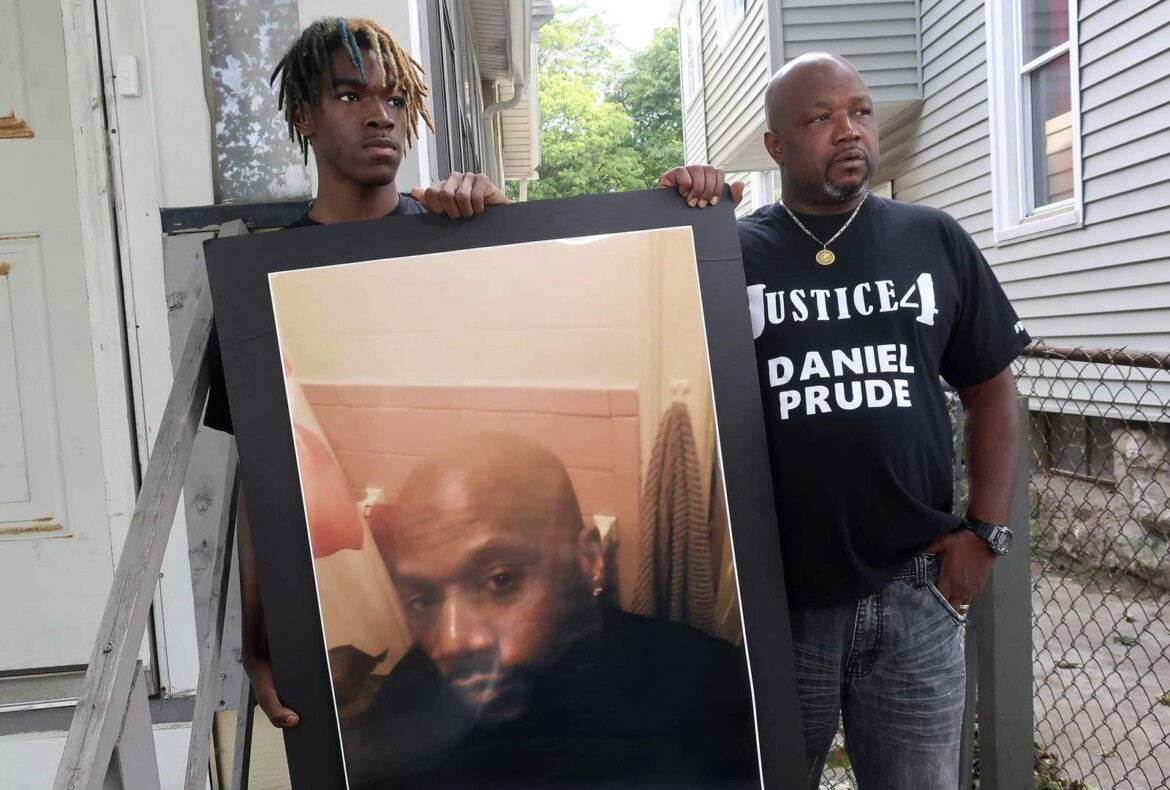 Prude's family says videos show crime; Officers say no