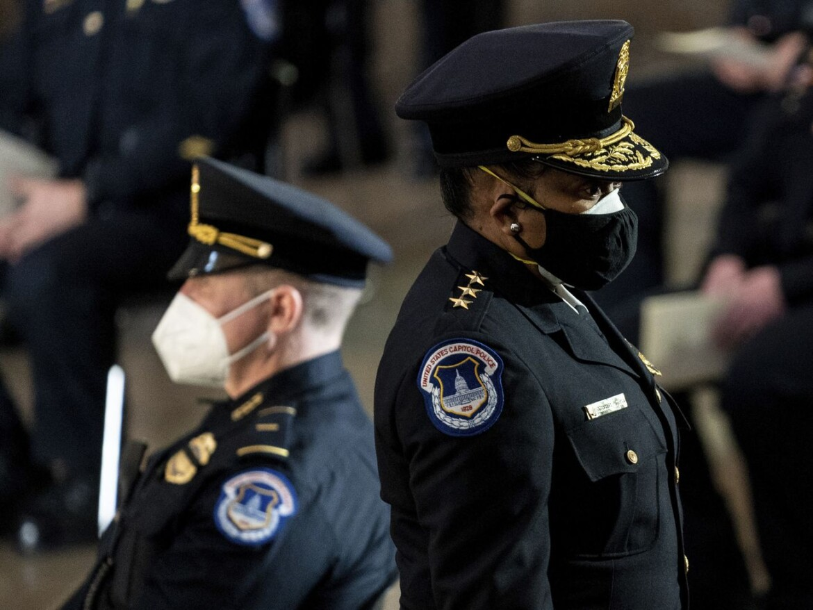 Capitol police were unsure about using force on Jan. 6, chief says