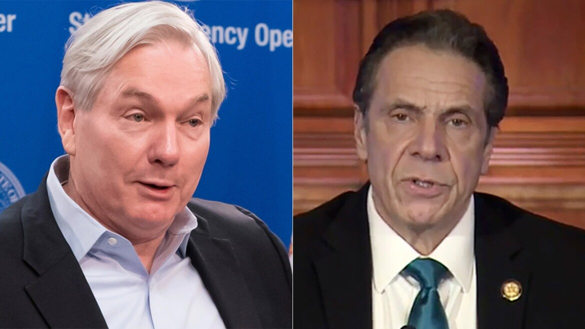 Cuomo aide said top infectious disease doctor spoke to governor 'regularly,' but doc denies it