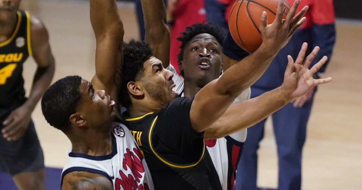 College basketball: Mississippi upends No. 10 Missouri