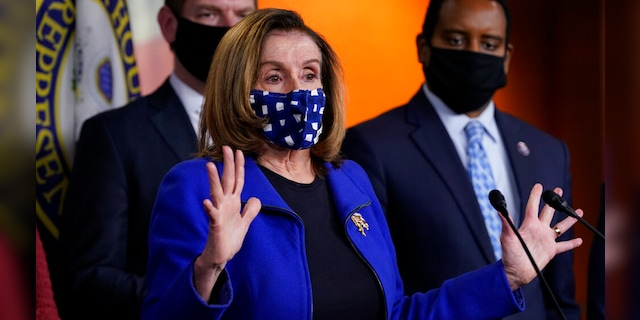 Nancy Pelosi doubles down on police reform named for George Floyd