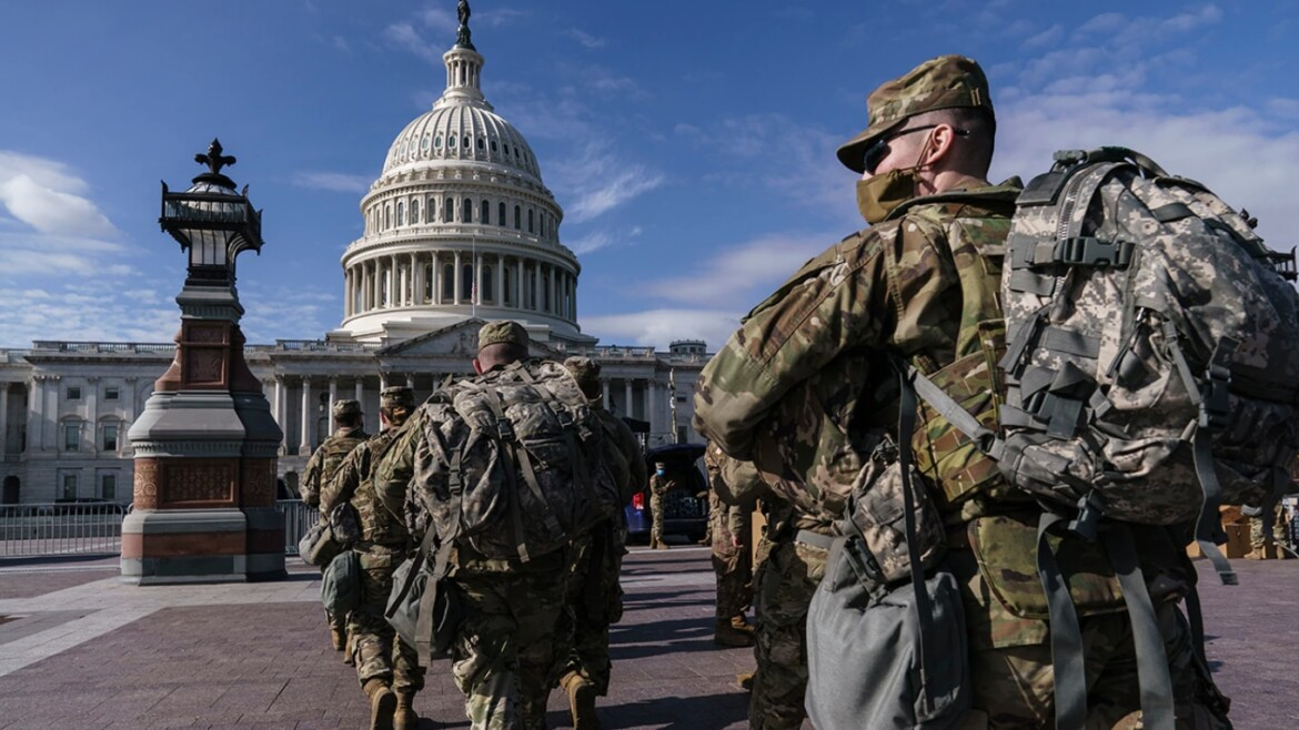 Small contingent of National Guard expected to remain at US Capitol indefinitely