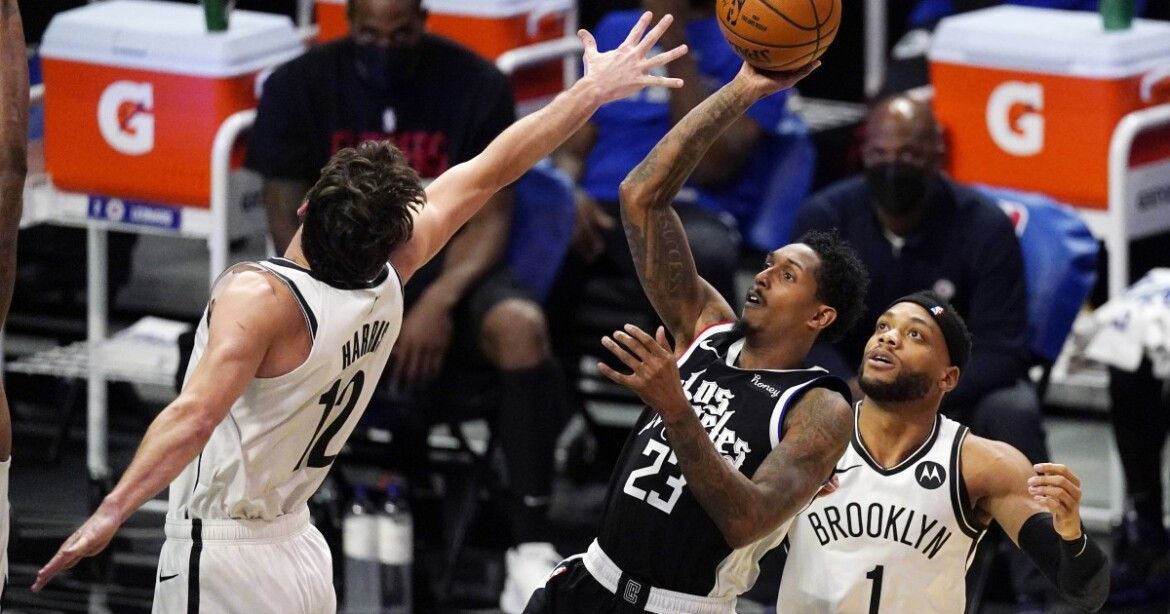 Clippers' second-half rally falls short against Nets