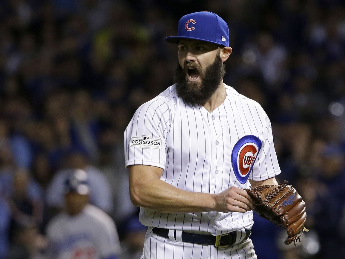 Jake Arrieta's excited to see how Cubs' pitching lab can help him