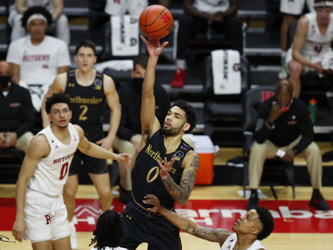 Northwestern falls to No. 25 Rutgers for 11th straight loss