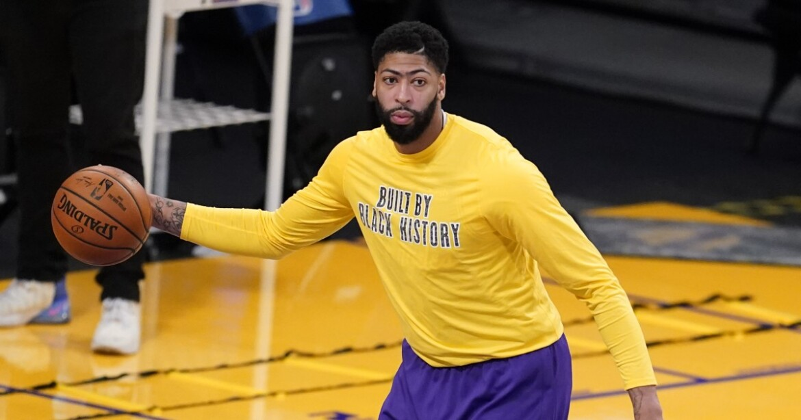 Anthony Davis to miss Lakers game vs. Thunder because of Achilles injury