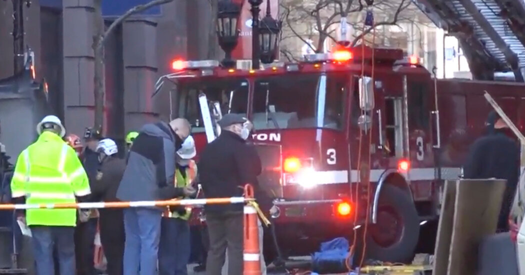 Two Workers Are Killed at Boston Construction Site