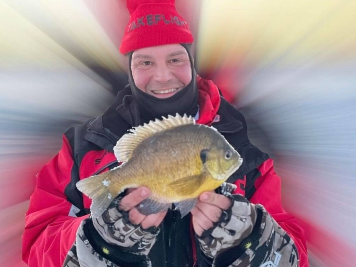 Here's to really big panfish: A thick, long bluegill and fat thick perch earn Fish of the Week honors